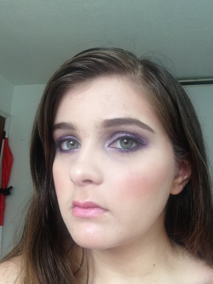 Purple Fairy Look